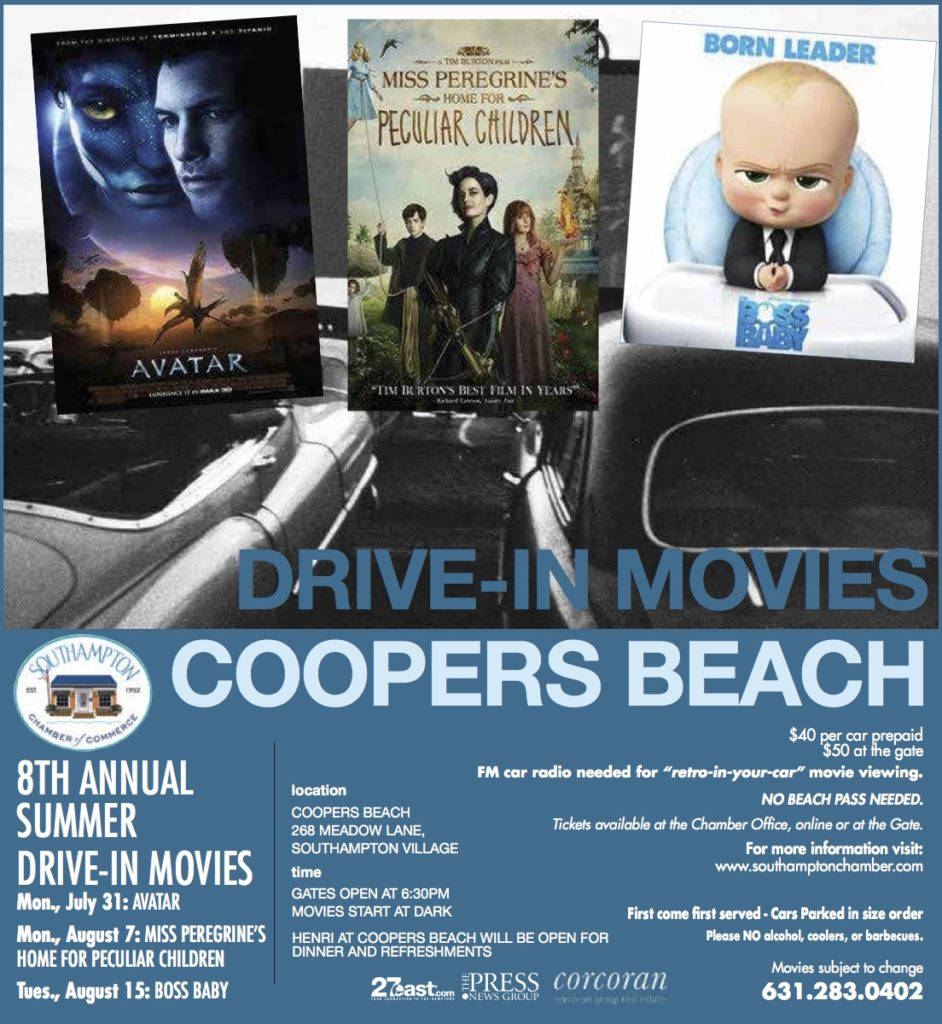 Coopers Beach Drive In Movies